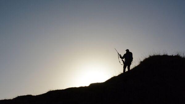 Silhouette of a hunter - Sputnik Italia