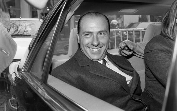 Il tycoon televisivo Silvio Berlusconi, 1985 - Sputnik Italia