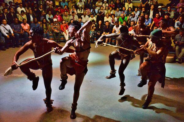 La danza della tribù sudafricana, Pretoria, Sudafrica. - Sputnik Italia
