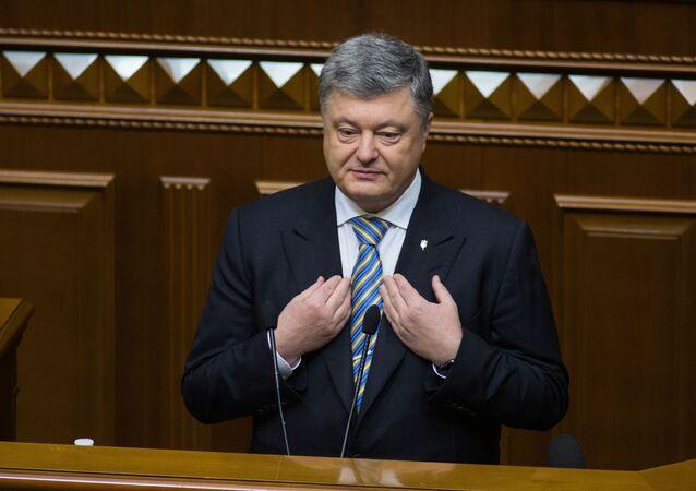 Il presidente ucraino Petro Poroshenko