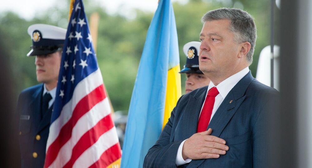Il presidente ucraino Petr Poroshenko
