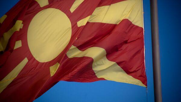 Bandiera di Macedonia - Sputnik Italia
