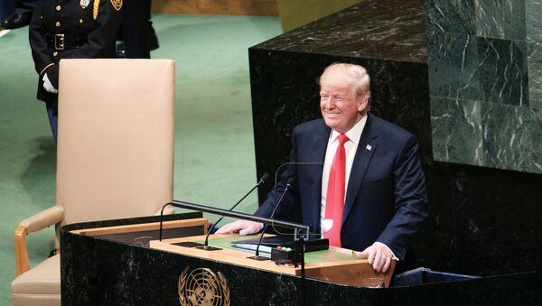 Donald Trump alla 73esima Assemblea Generale Onu - Sputnik Italia