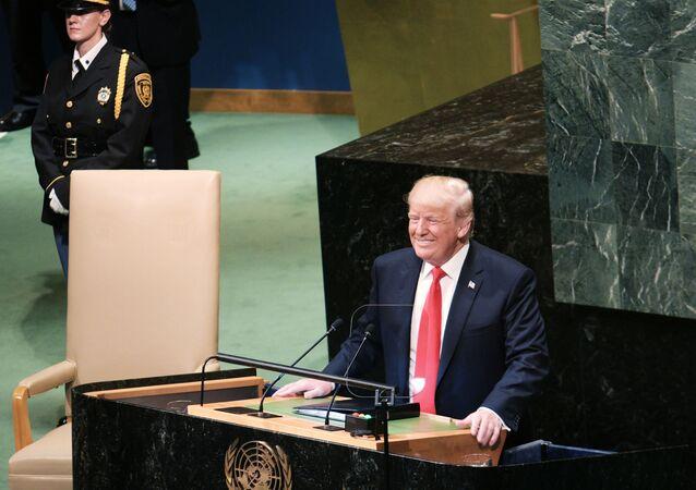 Donald Trump alla 73esima Assemblea Generale Onu