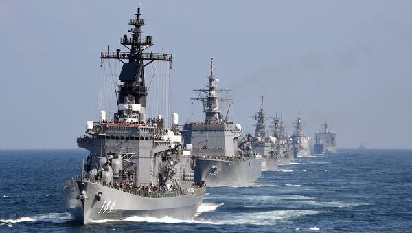 Navi militari giapponesi - Sputnik Italia