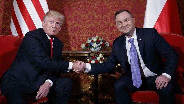 Andrey Duda e Donald Trump - Sputnik Italia