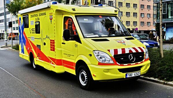 Ambulanza in Republica Ceca - Sputnik Italia