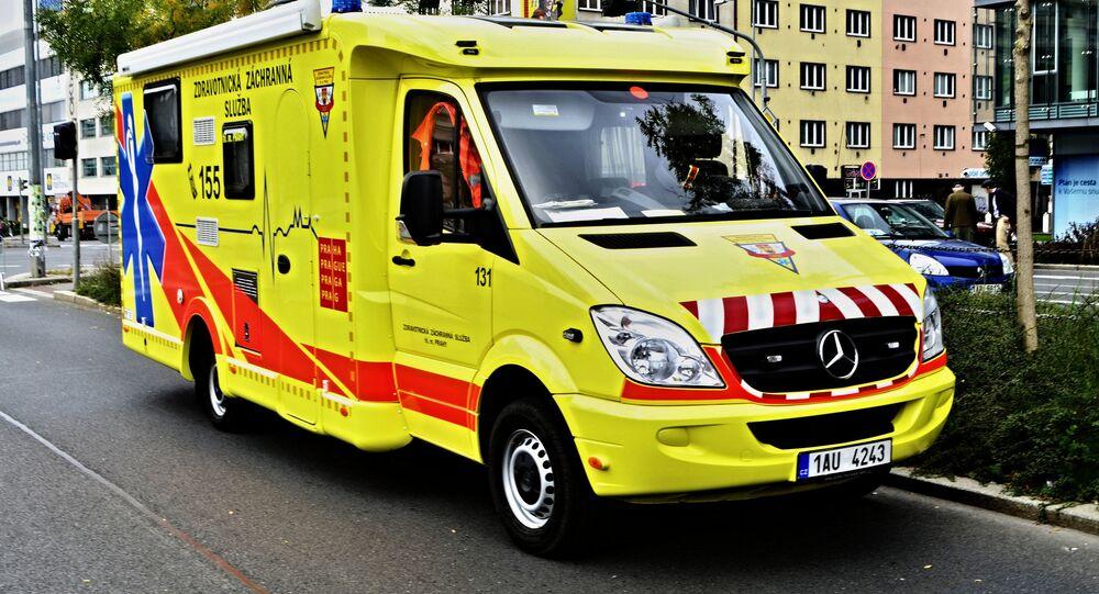 Ambulanza in Republica Ceca