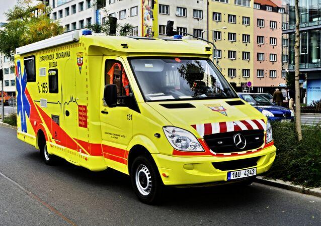 Ambulanza in Repubblica ceca