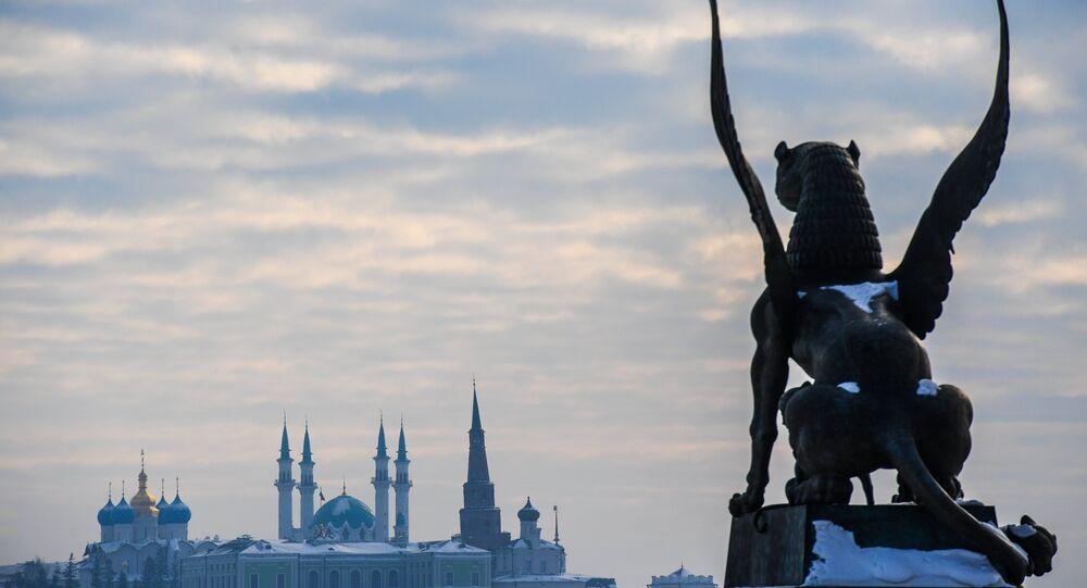 Vista sul Cremlino di Kazan - Tatarstan