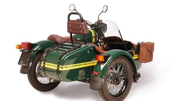 Versione limitata della moto Ural CT - Sputnik Italia