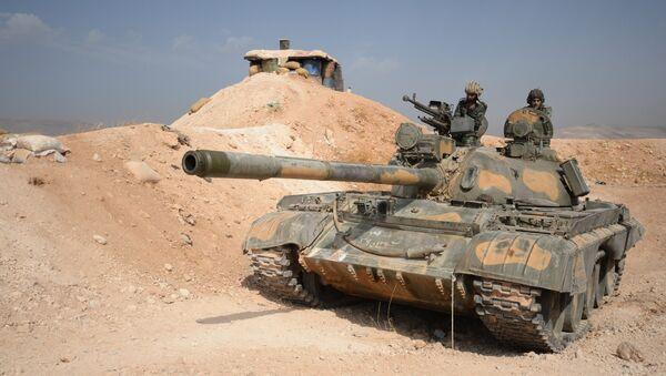 Il carro armato T-72, Damasco - Sputnik Italia