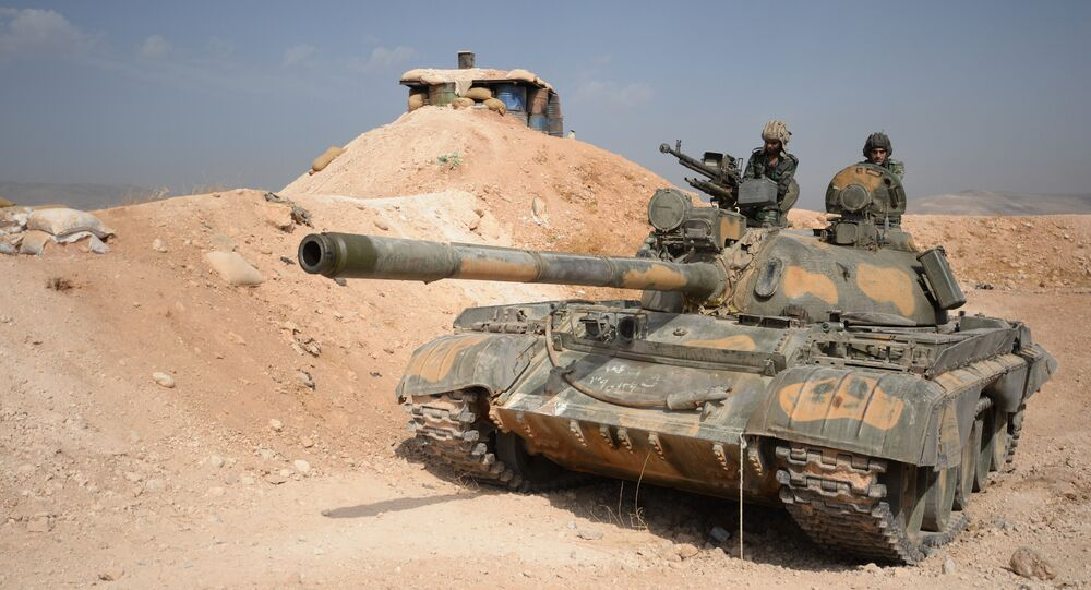 Il carro armato T-72, Damasco