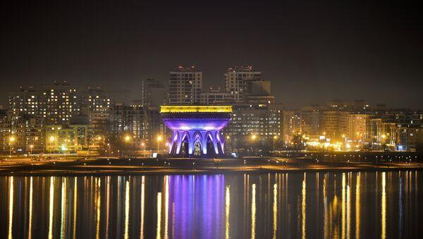 Kazan di notte - Tatarstan - Sputnik Italia