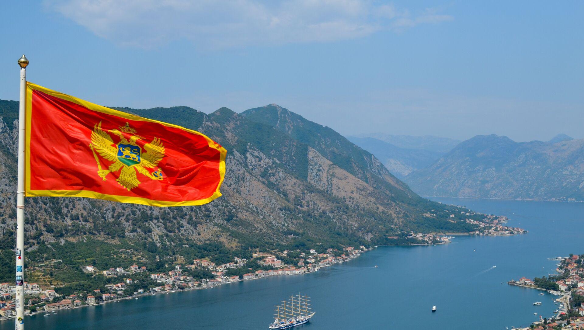 Bandiera di Montenegro - Sputnik Italia, 1920, 16.02.2021