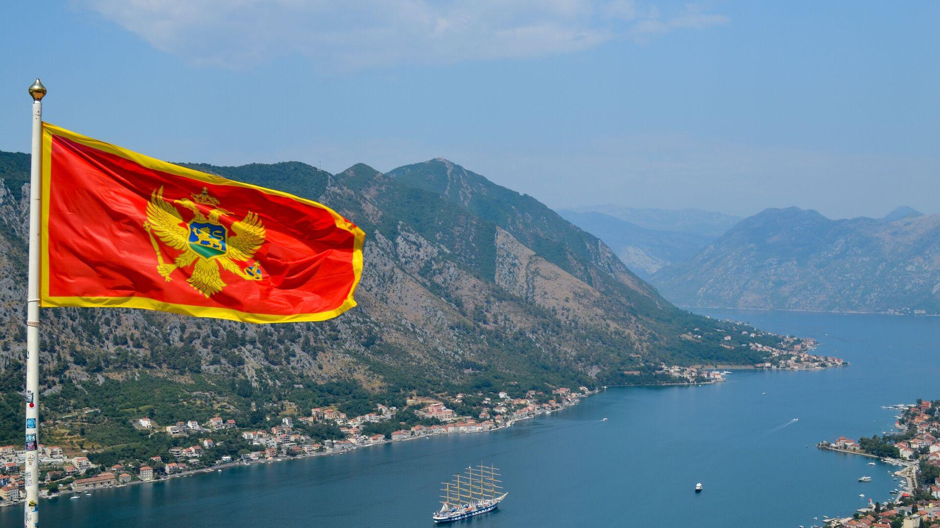 Bandiera di Montenegro - Sputnik Italia, 1920, 05.09.2021