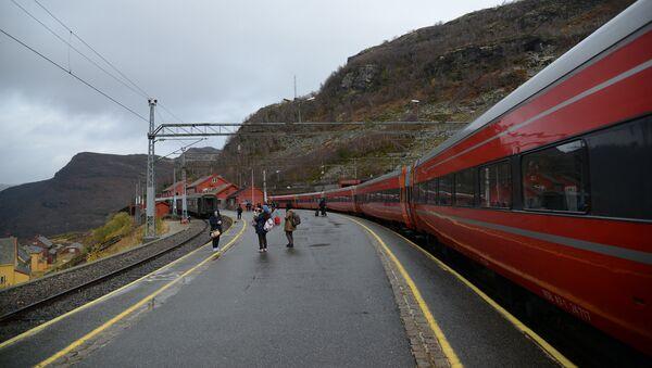 Railroad in Norway - Sputnik Italia