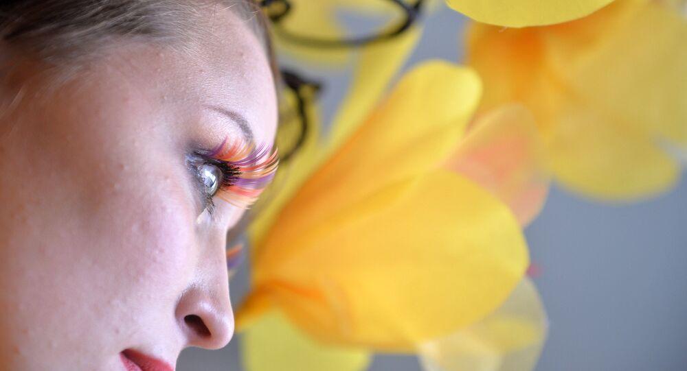 Partecipante al concorso 'Miss Vesna' (primavera) - MARI EL