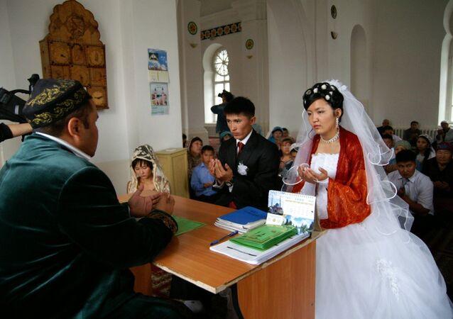 Un matrimonio in Kazakistan