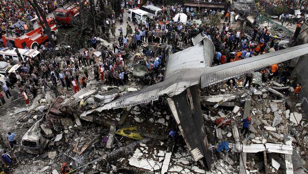 Dopo la caduta dell'aereo in Indonesia - Sputnik Italia