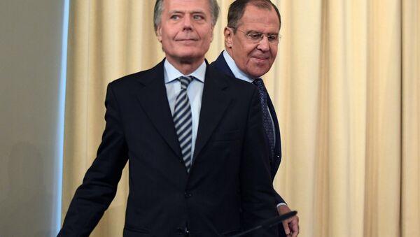 Incontro tra Sergei Lavrov e Enzo Moavero Milanesi - Sputnik Italia