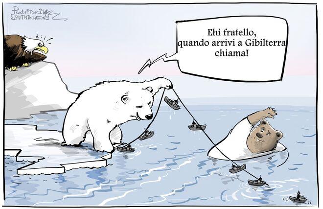 Sarà affondata a Gibilterra: esperto valuta probabilità USA del blocco navale russo