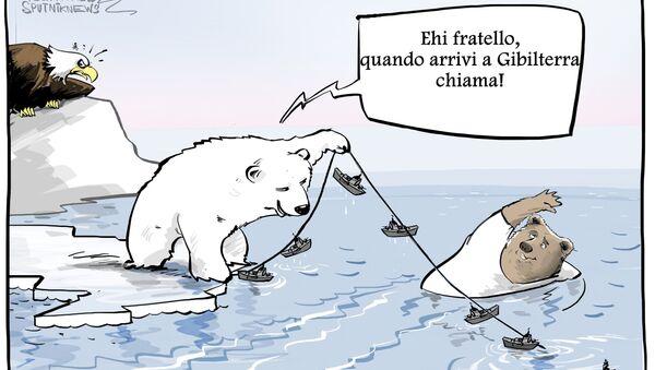 Sarà affondata a Gibilterra: esperto valuta probabilità USA del blocco navale russo - Sputnik Italia