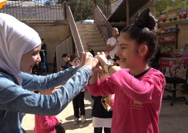 La ragazza siriana senza gambe