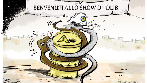 Allo show di Idlib - Sputnik Italia