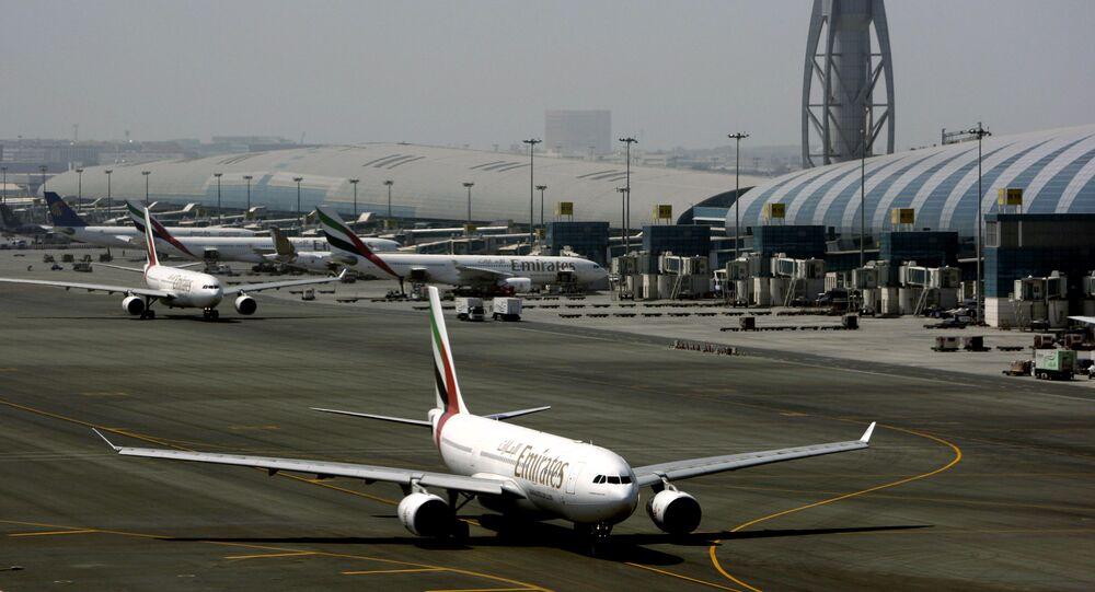 Un aeromobile della United Arab Emirates