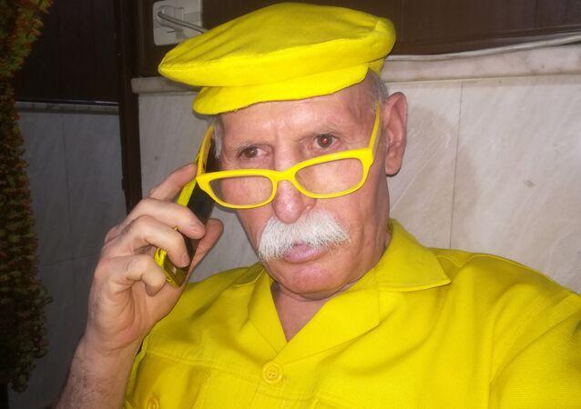 Uomo in giallo