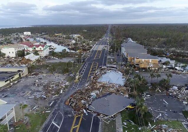 Uragano Michael in Florida