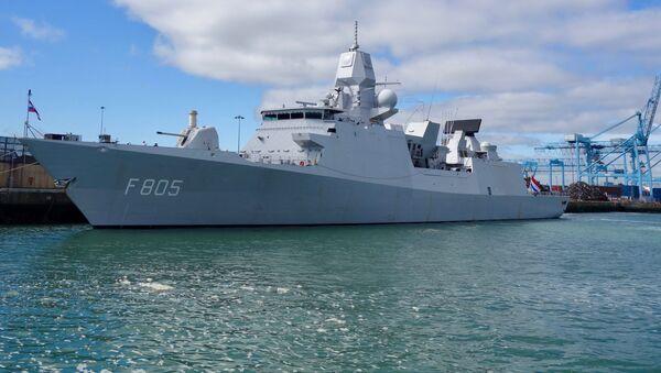 La nave della marina olandese HNLMS Evertsen - Sputnik Italia
