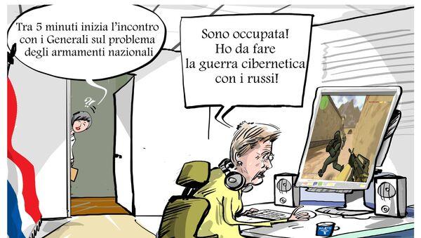 Ministro Difesa olandese: l'Olanda è in guerra informatica con la Russia - Sputnik Italia
