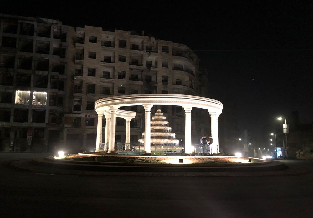 La notte di Aleppo