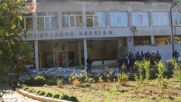 L'attentato alla scuola politecnica a Kerch - Sputnik Italia