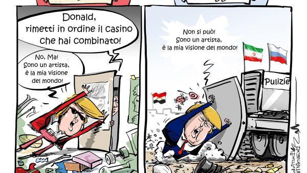 L'ARTISTA INCOMPRESO - Sputnik Italia