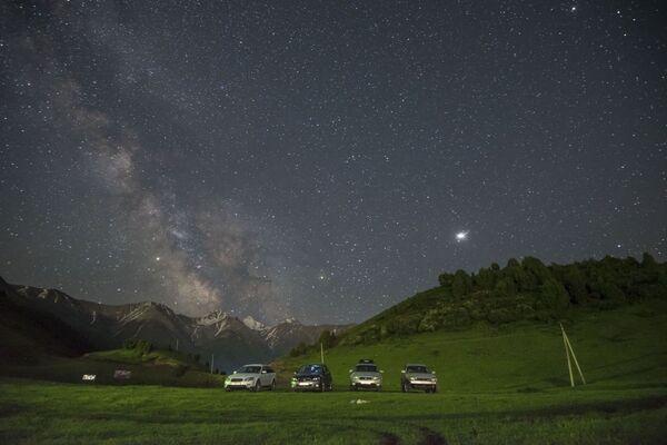 Il cielo sopra i monti della Kirghisia - Sputnik Italia