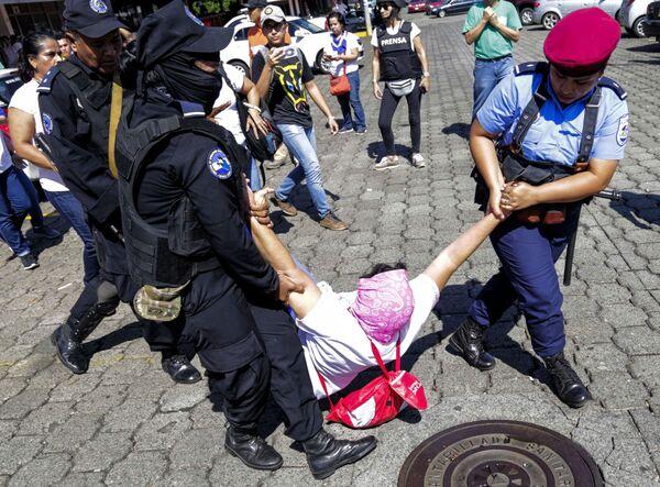 La polizia di Nicaragua al lavoro. - Sputnik Italia