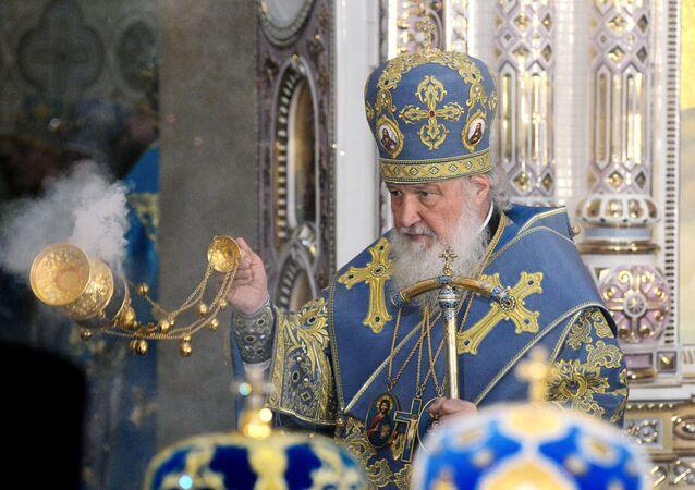 Il patriarca di Mosca e di tutte le Russie Kirill (foto d'archivio)