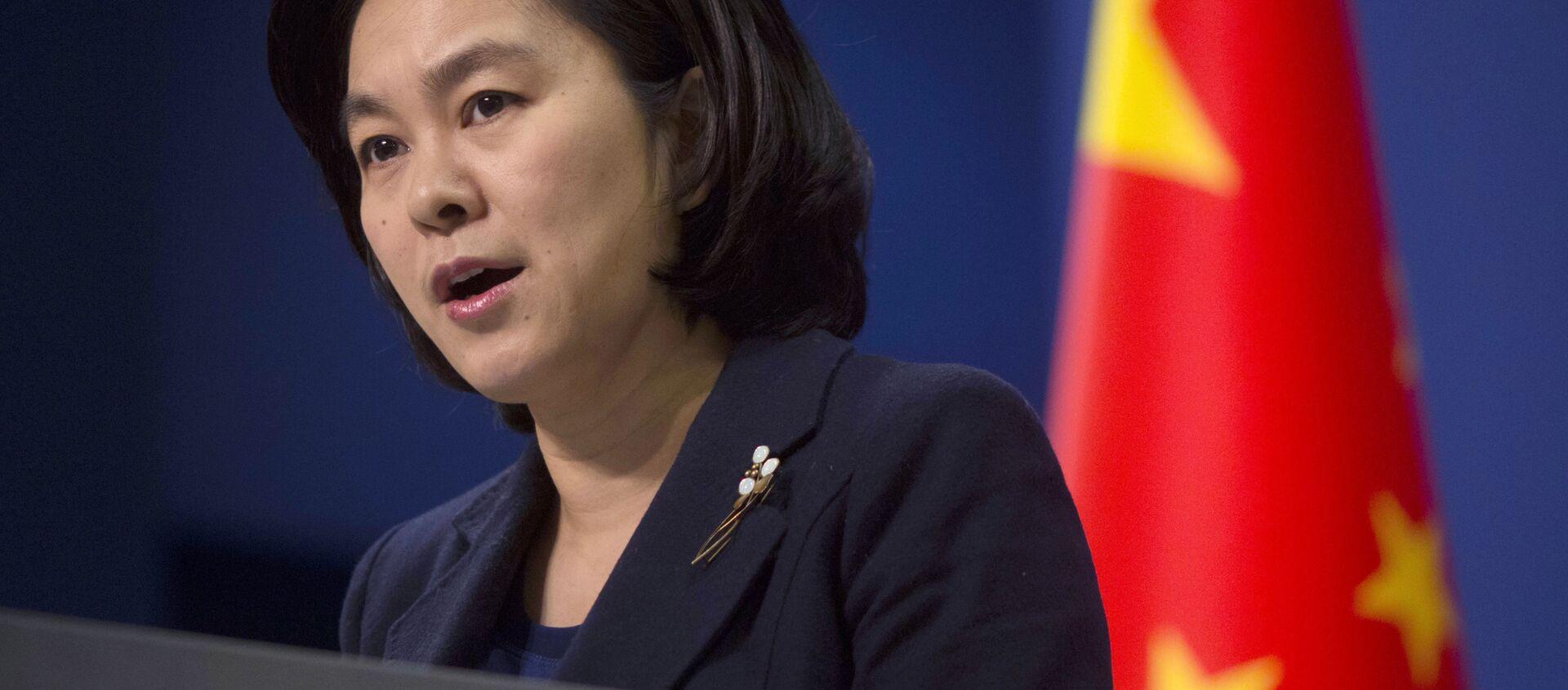 La portavoce del ministero degli Esteri cinese Hua Chunying - Sputnik Italia, 1920, 21.01.2021