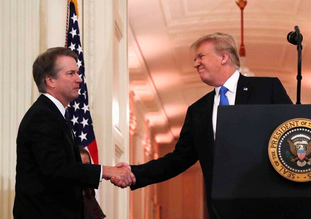 Brett Kavanaugh e Donald Trump