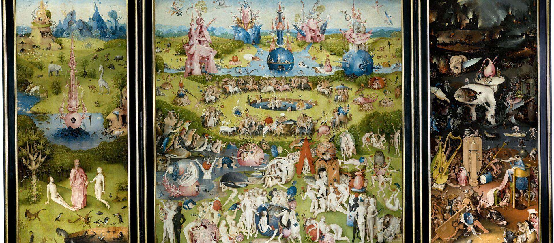 Il giardino delle delizie - Hieronymus Bosch - Sputnik Italia, 1920, 23.10.2018