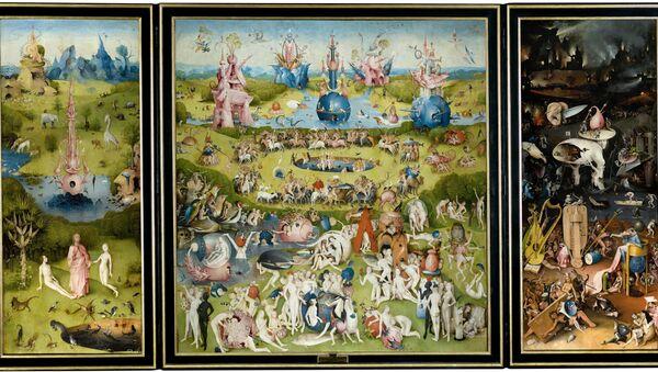 Il giardino delle delizie - Hieronymus Bosch - Sputnik Italia