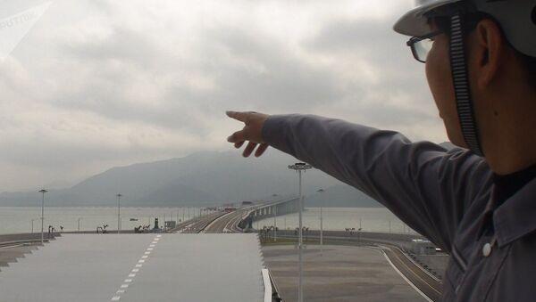 Hong Kong-Zhuhai-Macau Bridge - Sputnik Italia