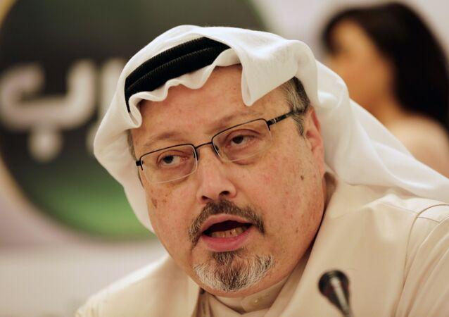 Jamal Khashoggi (foto d'archivio)