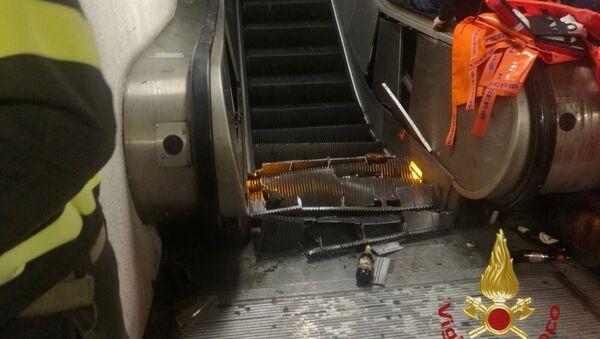 Incidente in metro a Roma: decine di feriti tra cui tifosi russi del Cska - Sputnik Italia