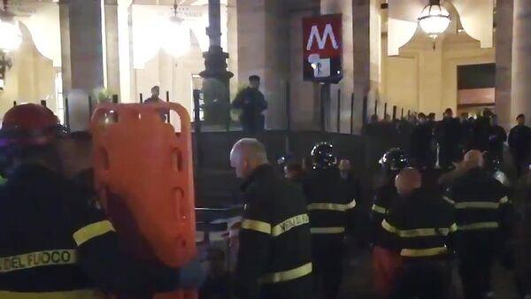 Incidente in metropolitana a Roma - Sputnik Italia