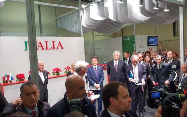 La visita di Giuseppe Conte a Mosca - Sputnik Italia