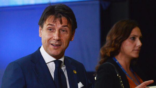 Giuseppe Conte alla seduta del Consiglio d'Europa - Sputnik Italia